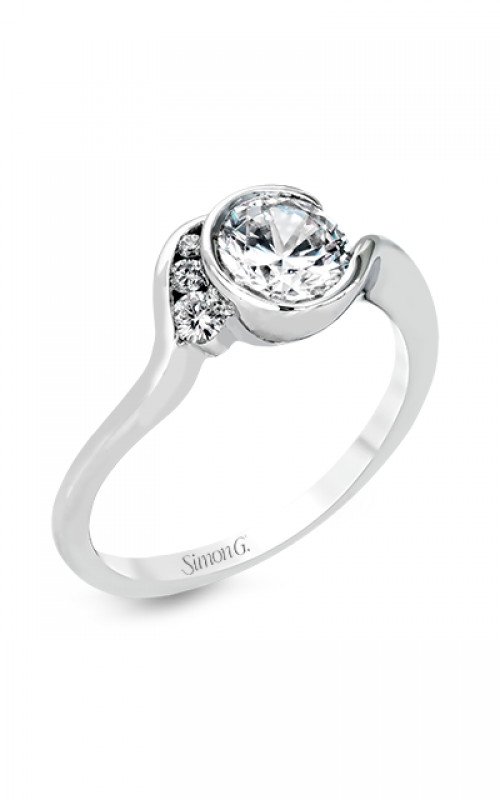 Simon G Classic Romance Engagement ring Mr2549 product image