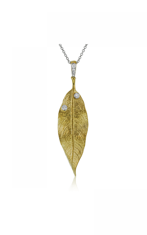 Simon G Fallen Leaves Necklace LP2394 product image