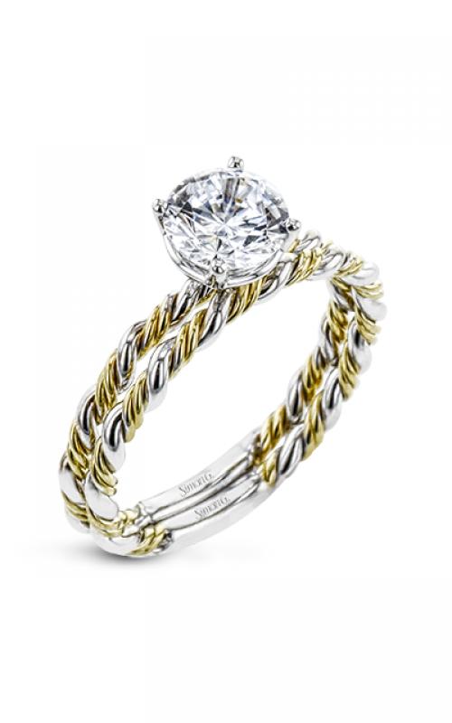 Simon G Twist Engagement ring LR2633 product image