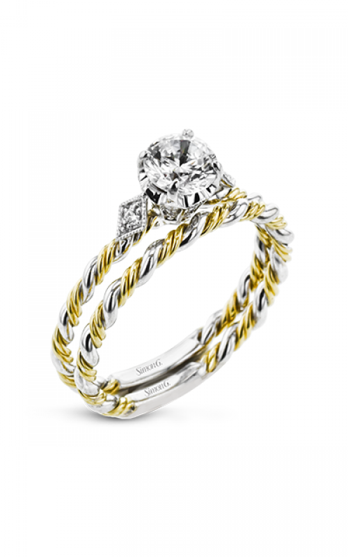 Simon G Twist Engagement ring LR2635 product image