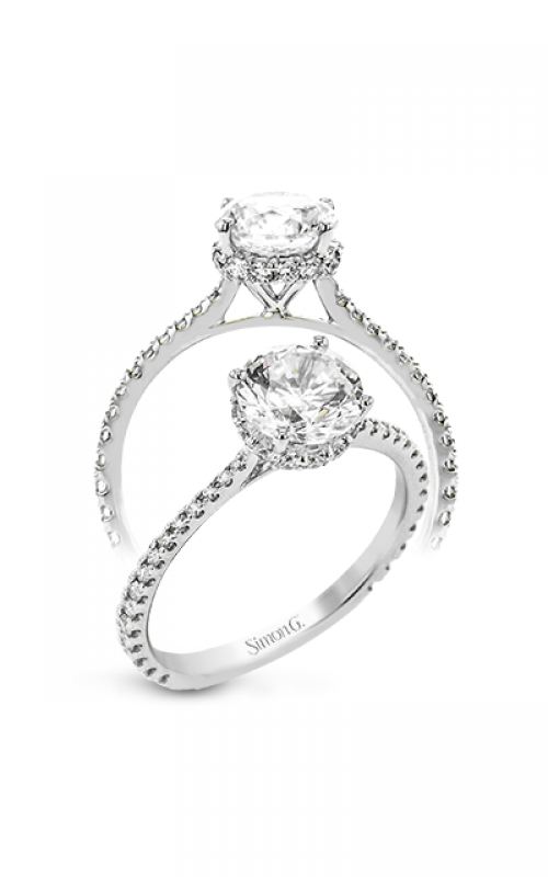 Simon G Underhalo Engagement ring LR2833 product image