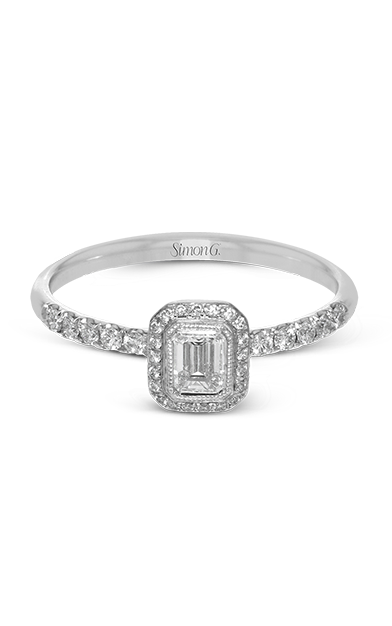 Simon G Delicate Engagement ring LR1103 product image