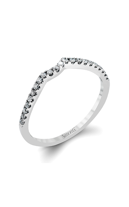 Simon G Delicate Wedding band DR234-D product image