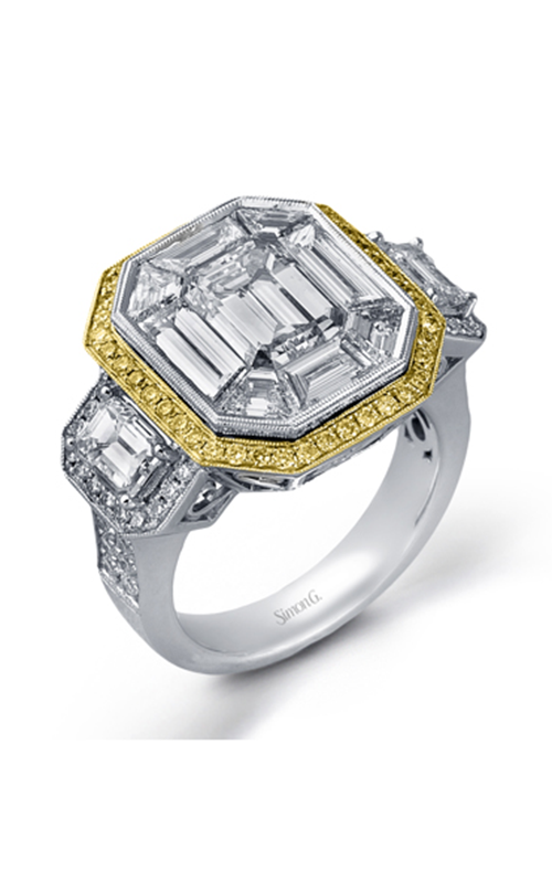 Simon G Mosaic Engagement ring LP2168 product image
