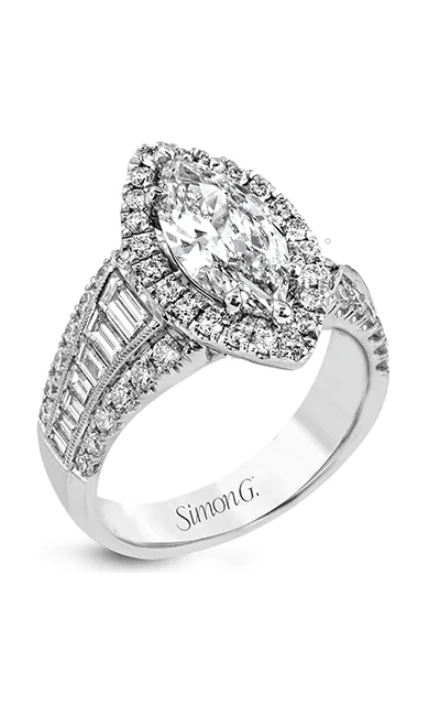 Simon G Passion Engagement Ring LR1164-MQ product image
