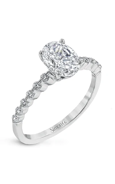 Simon G Engagement Ring MR2173-D-OV product image