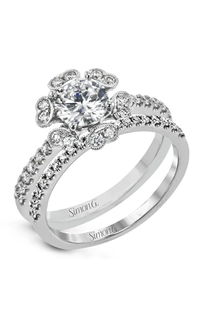 Simon G Wedding Set MR3056 product image