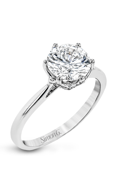 Simon G Vintage Explorer Engagement Ring Lr2143 product image