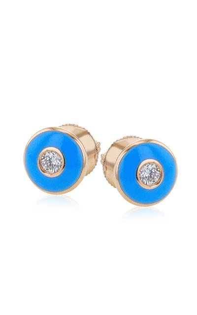 Simon G Enamel Earrings LE4585 product image