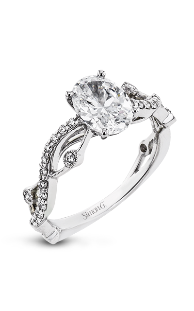 Simon G Neo Engagement Ring LR2207-OV product image