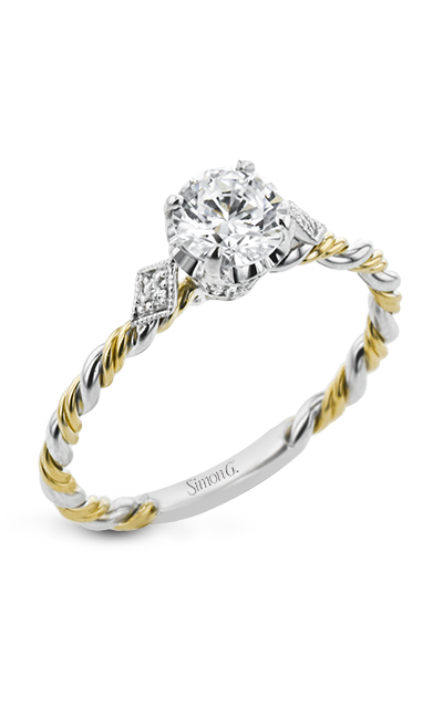 Simon G Twist Engagement Ring LR2635 product image