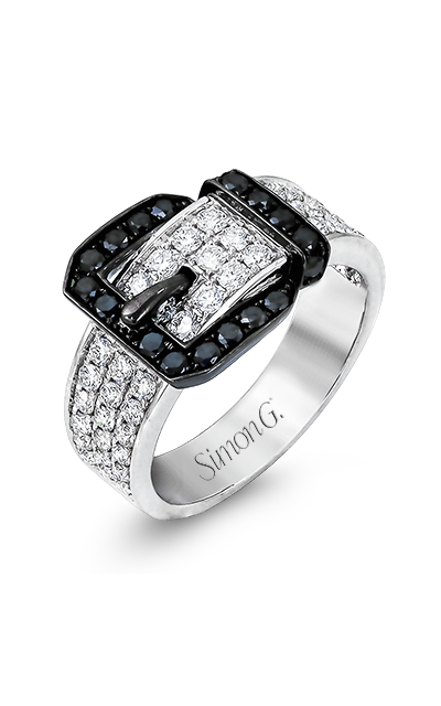 Simon G Buckle Fashion Ring TR455 product image