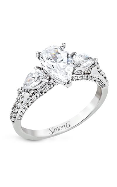 Simon G Flourish Engagement Ring LR2840 product image