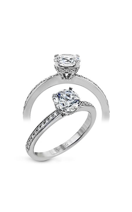 Simon G Underhalo Engagement Ring LR2225 product image