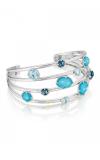 Tacori Floating Gem Cuff featuring Assorted Gemstones SB156050233-S