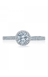 Tacori Sculpted Crescent Engagement Ring 49RDP55W