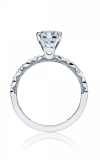Tacori Sculpted Crescent Engagement Ring 46-25RD65W