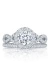 Tacori Petite Crescent Engagement Ring HT2549RD65W