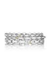 Tacori Bold Silver Links Bracelet SB189M