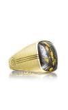 Tacori Cushion Cabochon featuring Tiger Iron Men's Ring MR100Y39