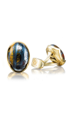 Tacori Oval Cabochon Cuff Links featuring Tiger Iron Cufflinks MCL103Y39