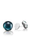 Tacori Cabochon Cuff Links featuring Sky Blue Hematite Cufflinks MCL11137