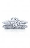 Tacori Reverse Crescent Engagement Ring 2618RD6W