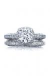 Tacori Reverse Crescent Engagement Ring 2618CU65W