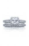 Tacori Reverse Crescent Engagement Ring 2618PR5W