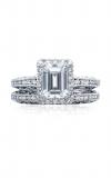 Tacori Reverse Crescent Engagement Ring 2618EC75X55W