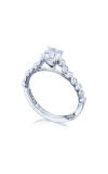 Tacori Sculpted Crescent Engagement Ring 201-2RD65W