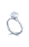 Tacori Sculpted Crescent Engagement Ring 202-2RD7W