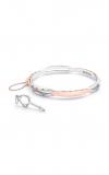 Tacori Promise Bracelet Oval, Rose Gold and Silver SB191P-M