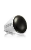 Tacori Oval Cabochon featuring Black Onyx Men's Ring MR10419