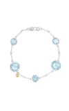 Tacori Multi Gem Chain Bracelet featuring Sky Blue Topaz SB20202