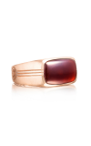 Tacori East-West featuring Garnet over Mother of Pearl Men's Ring MR102P41