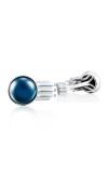 Tacori Gemstone Racing Cuff Links featuring Sky Blue Topaz over Hematite Cufflinks MCL11237