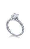 Tacori Petite Crescent Engagement Ring HT2558PR55W