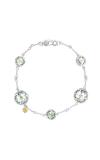 Tacori Multi Gem Chain Bracelet featuring Prasiolite SB20212