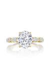 Tacori Petite Crescent RoyalT Engagement Ring HT2654OV10X8Y