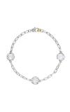 Tacori Triple Gem Bracelet featuring Chalcedony SB22103
