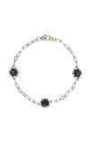 Tacori Triple Gem Bracelet featuring Black Onyx SB22119