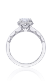 Tacori Coastal Crescent Engagement Ring P101EC75X55FW