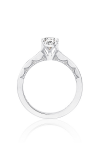 Tacori Coastal Crescent Engagement Ring P102PS85X55FW