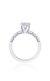 Tacori Coastal Crescent Engagement Ring P104EC75X55FW