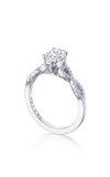 Tacori Coastal Crescent Engagement Ring P105OV75X55FW