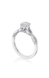 Tacori Coastal Crescent Engagement Ring P105RD6FW