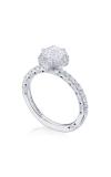 Tacori Petite Crescent Engagement Ring HT2572RD65W