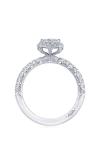 Tacori Petite Crescent Engagement Ring HT2572PR55W