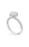 Tacori Petite Crescent Engagement Ring HT257215RD7W